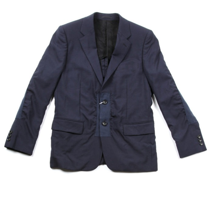 Twill Tape Wool Suit Jacket