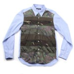 Mixed Camo Panel Shirt