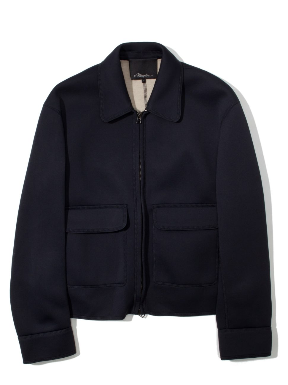 3.1 Phillip Lim Coverstitch Box Cut Jacket