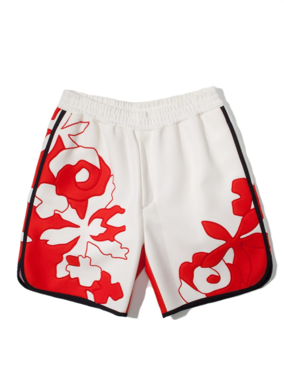 3.1 Phillip Lim Floral Applique Lounge Short