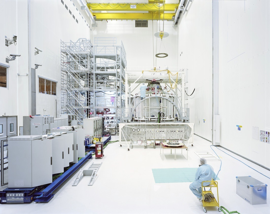 ATV assembly clean room, CSG-Europe's Spaceport, Kourou, French Guiana.