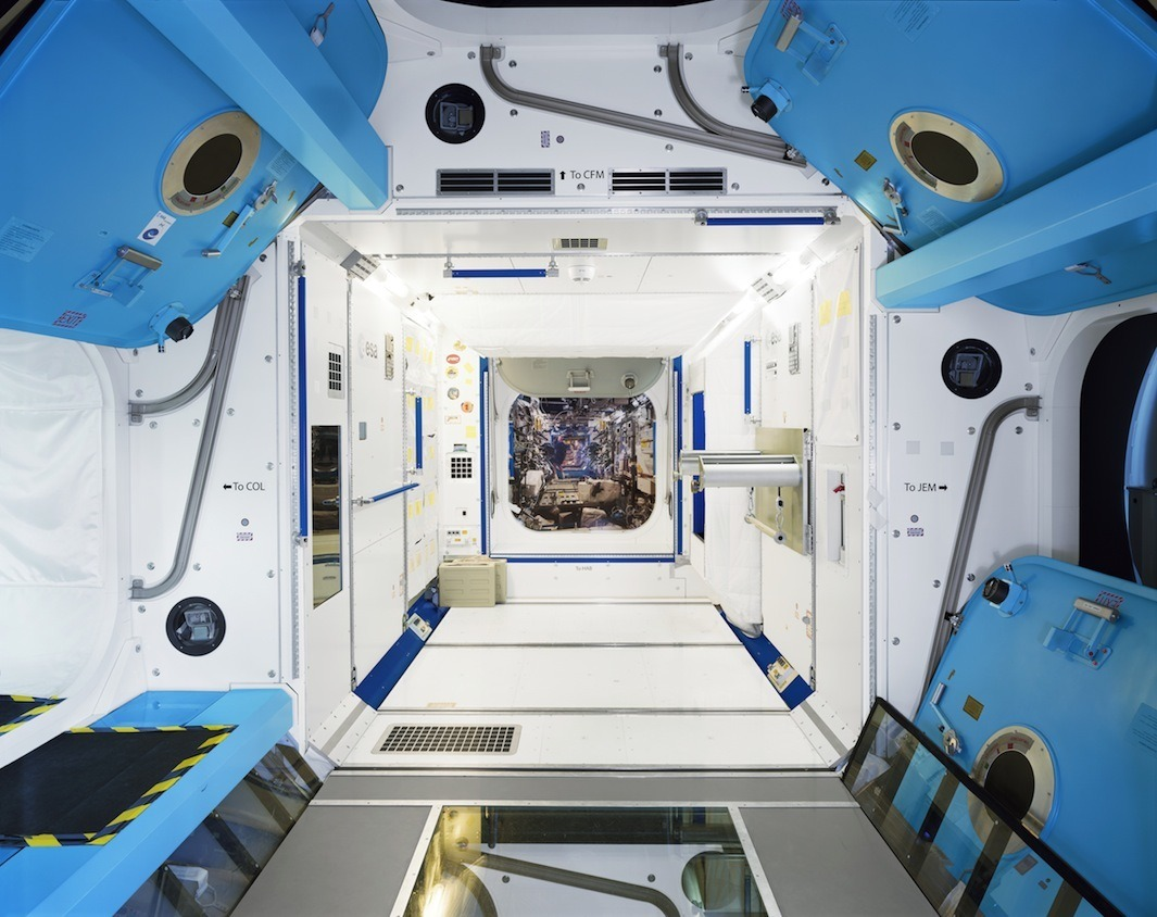 ISS training simulator, European Astronaut Centre, Cologne, Germany.