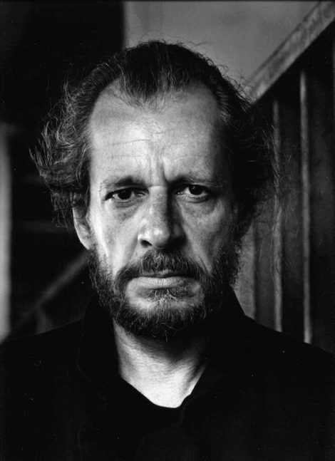 Larry Clark by Helmut Newton