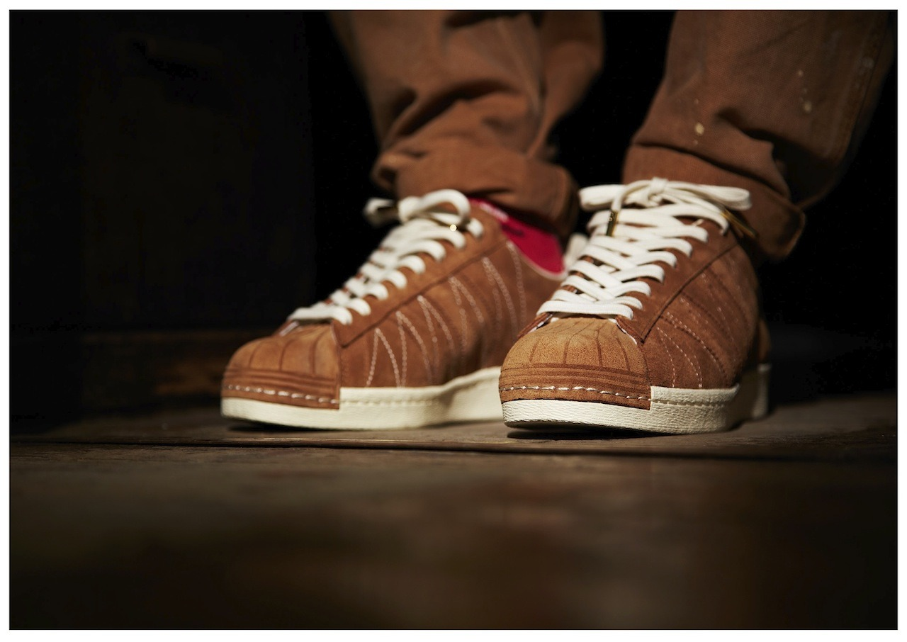 adidas consortium x union superstar 80s '10th anniversary'