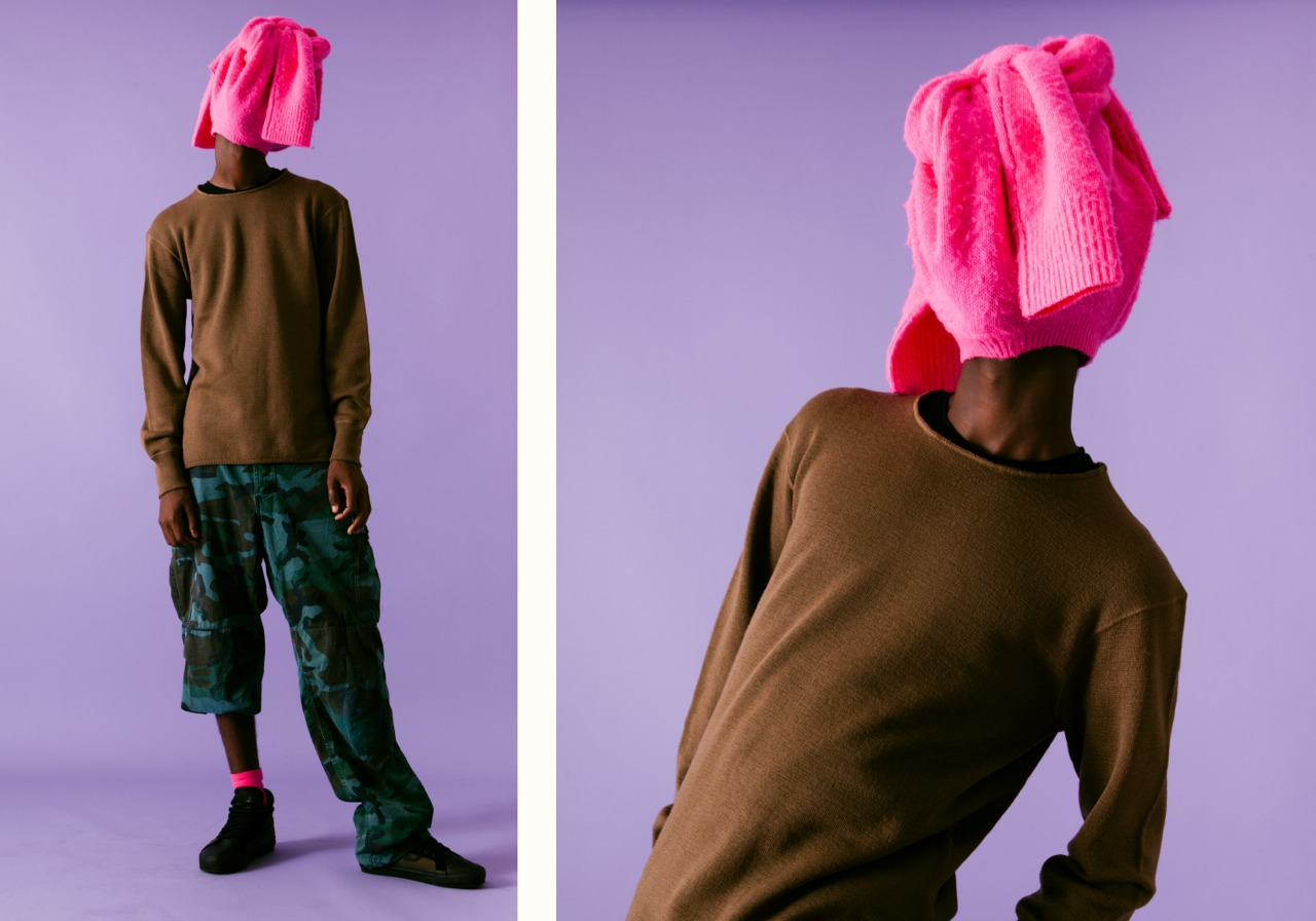 THE MASK PINK 1