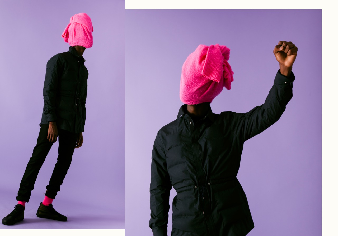 THE MASK PINK HEAD 3